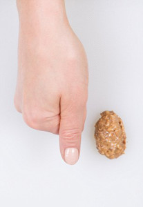 Crunchy Peanut Butter - feature on food portions